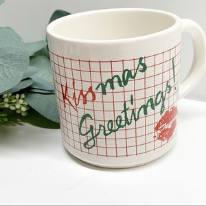 Vintage 80s/90s Christmas coffee tea cocoa mug